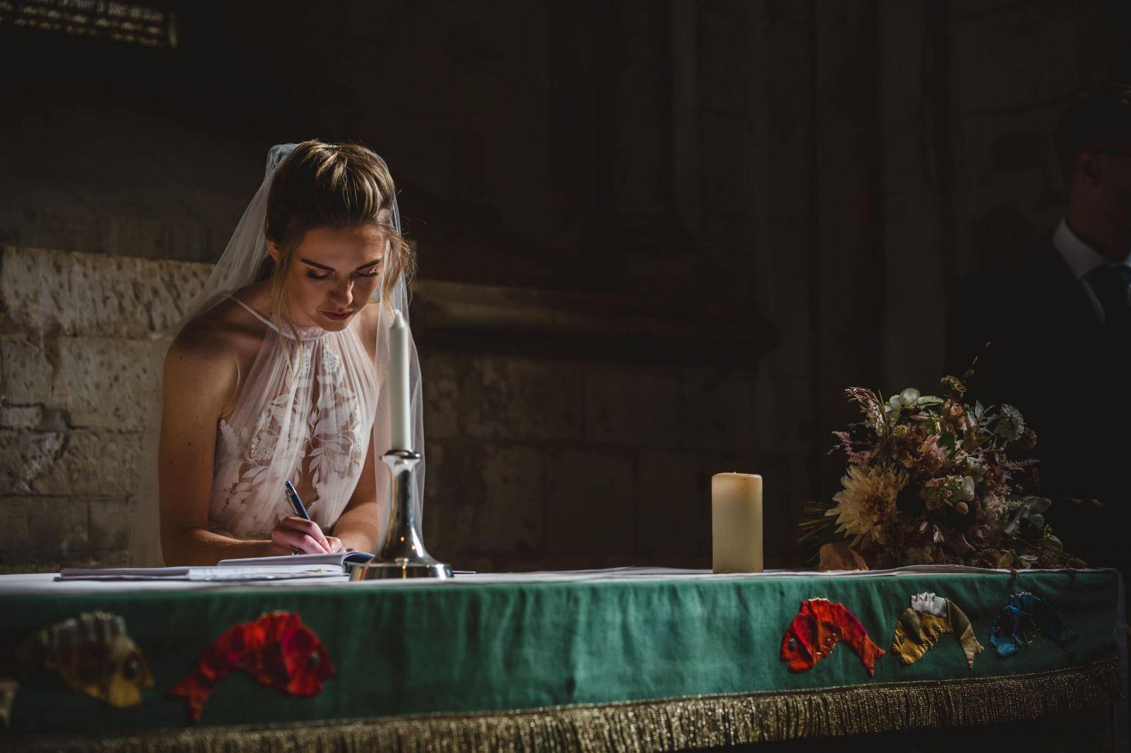 All Saints Church Wedding Surrey Wedding Photographer