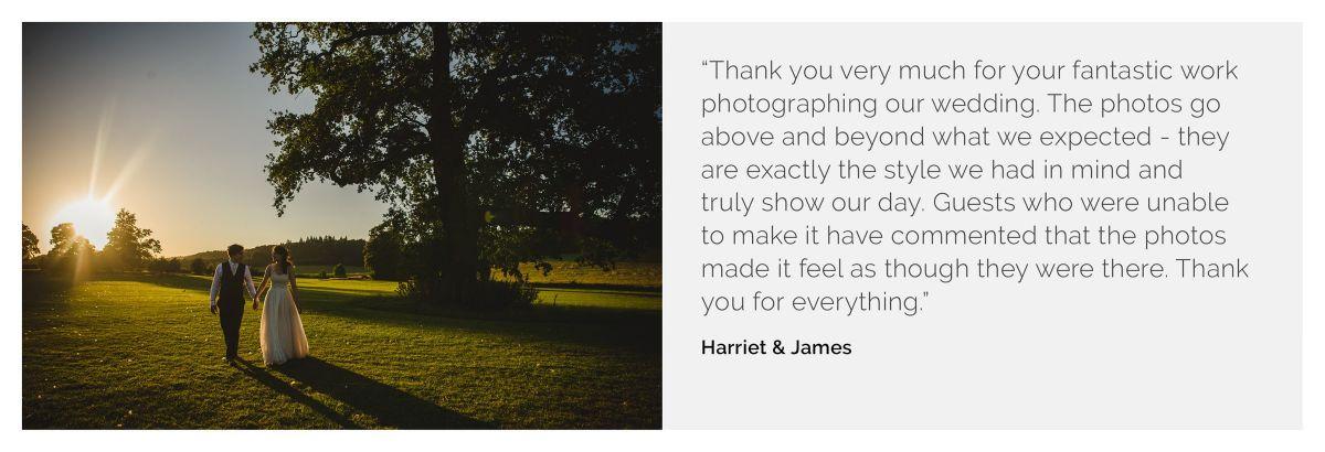 Harriet James