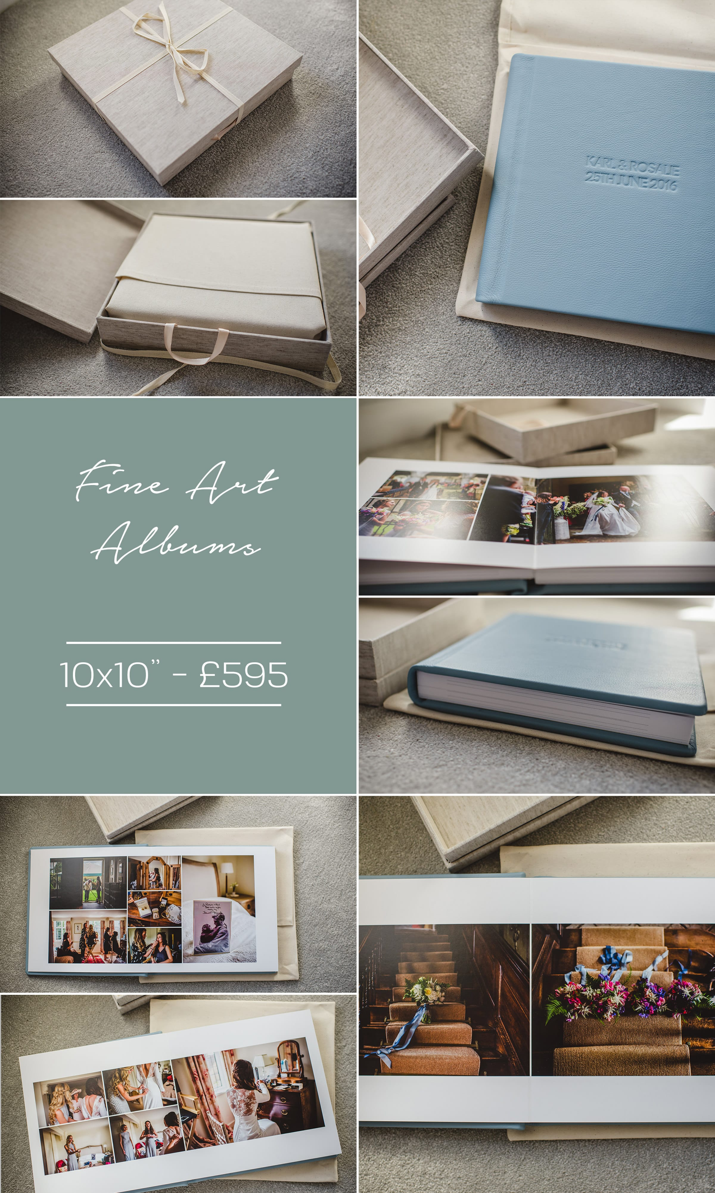 Sophie Duckworth Photography Wedding albums 1