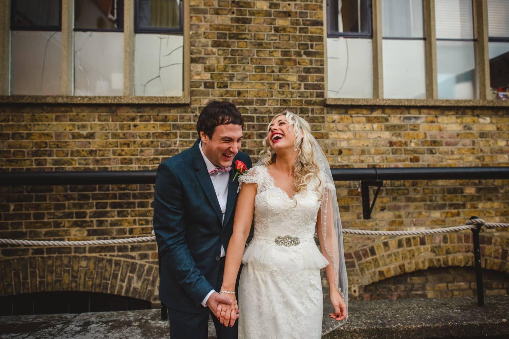 Trinity Buoy Wharf London Wedding Photography