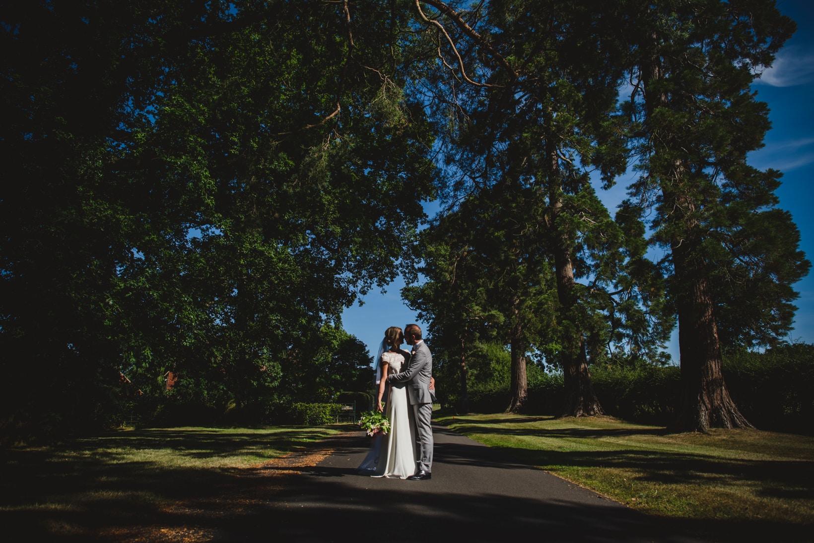Surrey Wedding Photography Annie Brian Marquee Garden Wedding