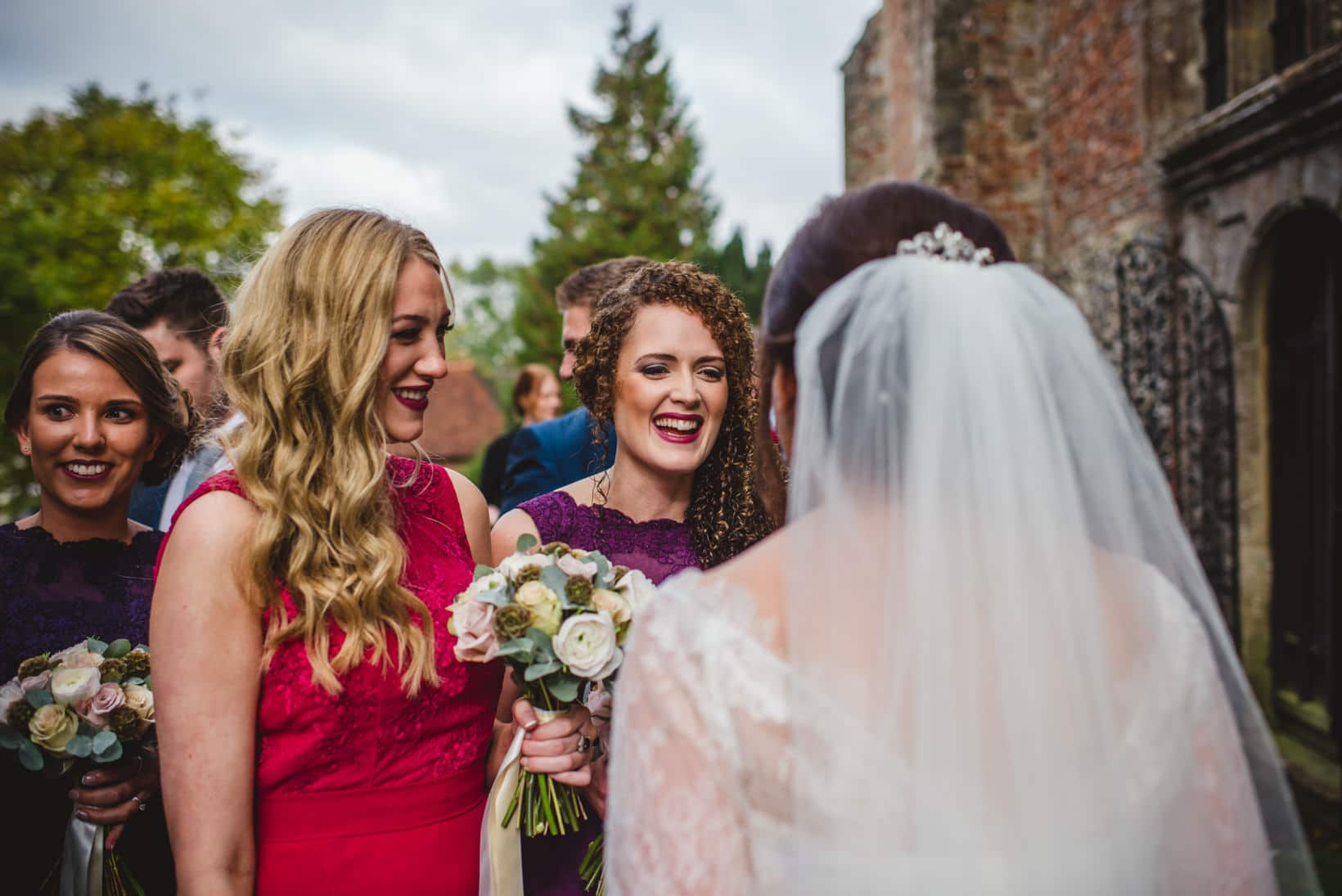 Surrey Wedding Photography Farnham Castle Nichola Johnny 25 of
