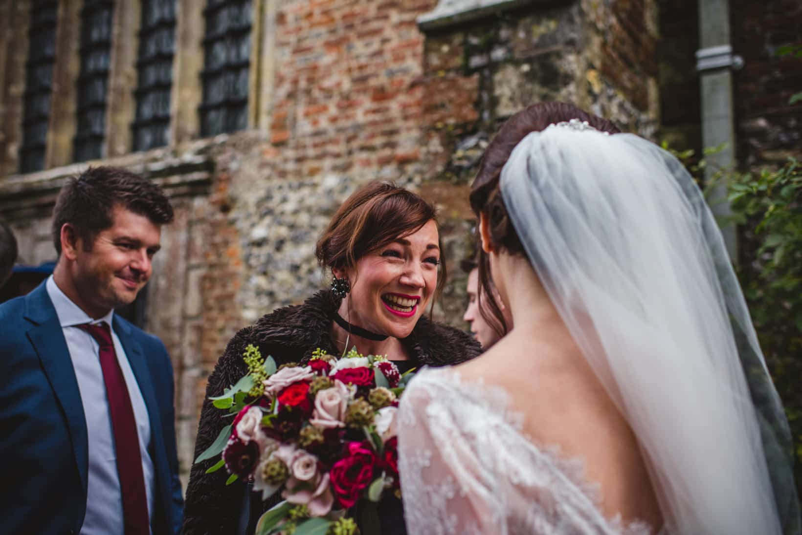 Surrey Wedding Photography Farnham Castle Nichola Johnny 26 of