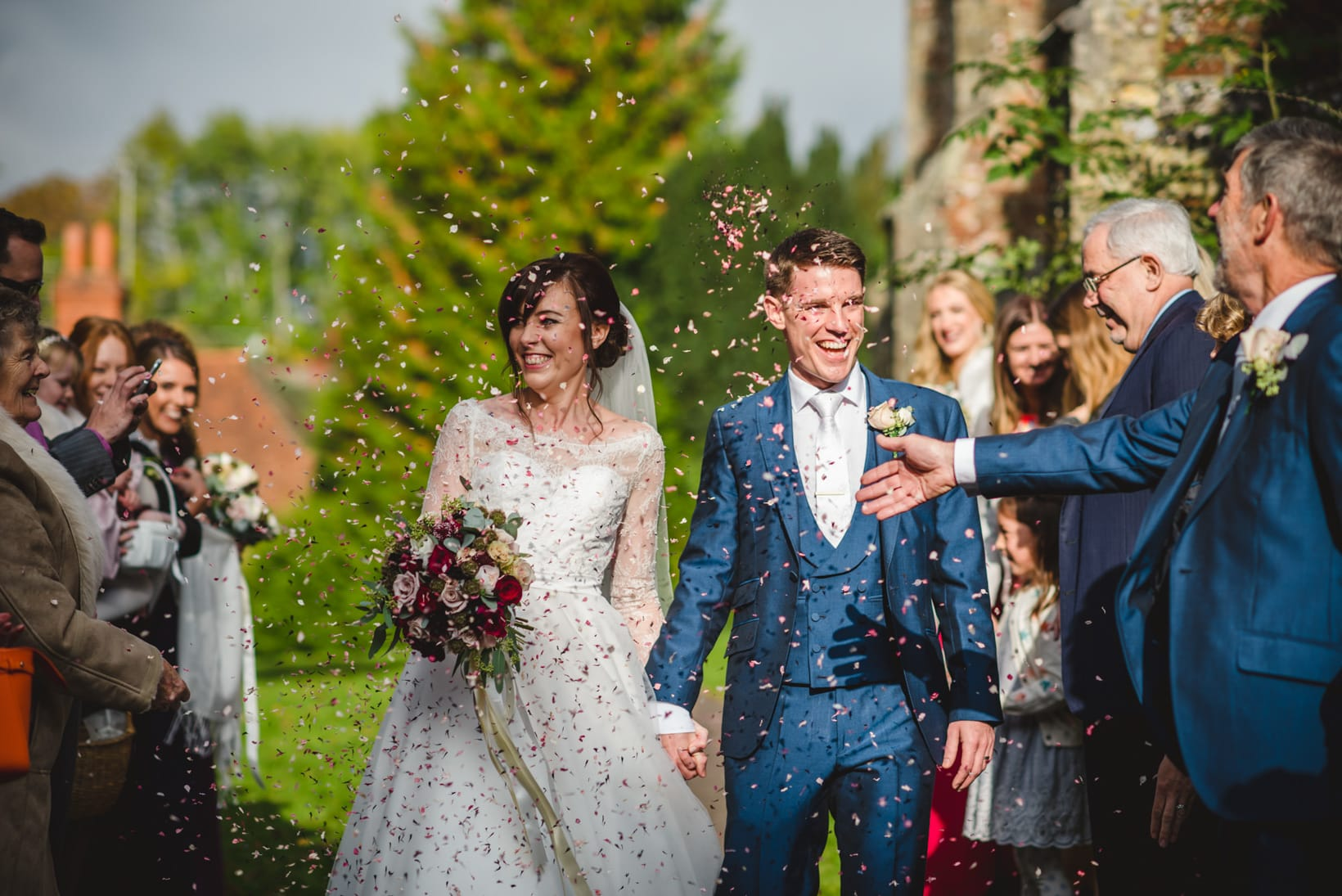 Surrey Wedding Photography Farnham Castle Nichola Johnny 27 of