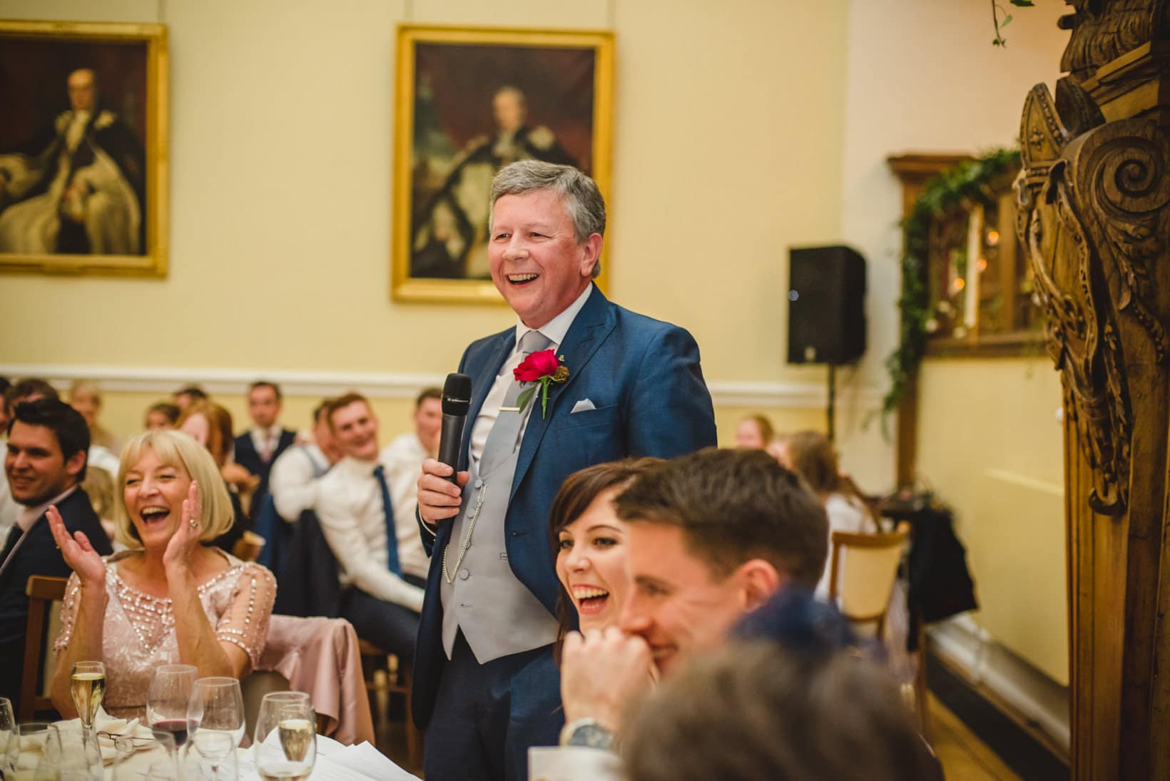 Surrey Wedding Photography Farnham Castle Nichola Johnny 47 of