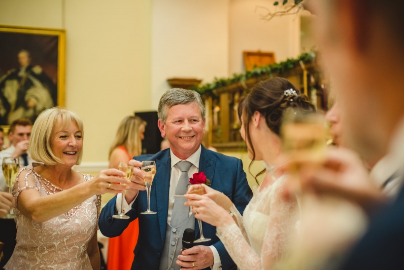 Surrey Wedding Photography Farnham Castle Nichola Johnny 49 of