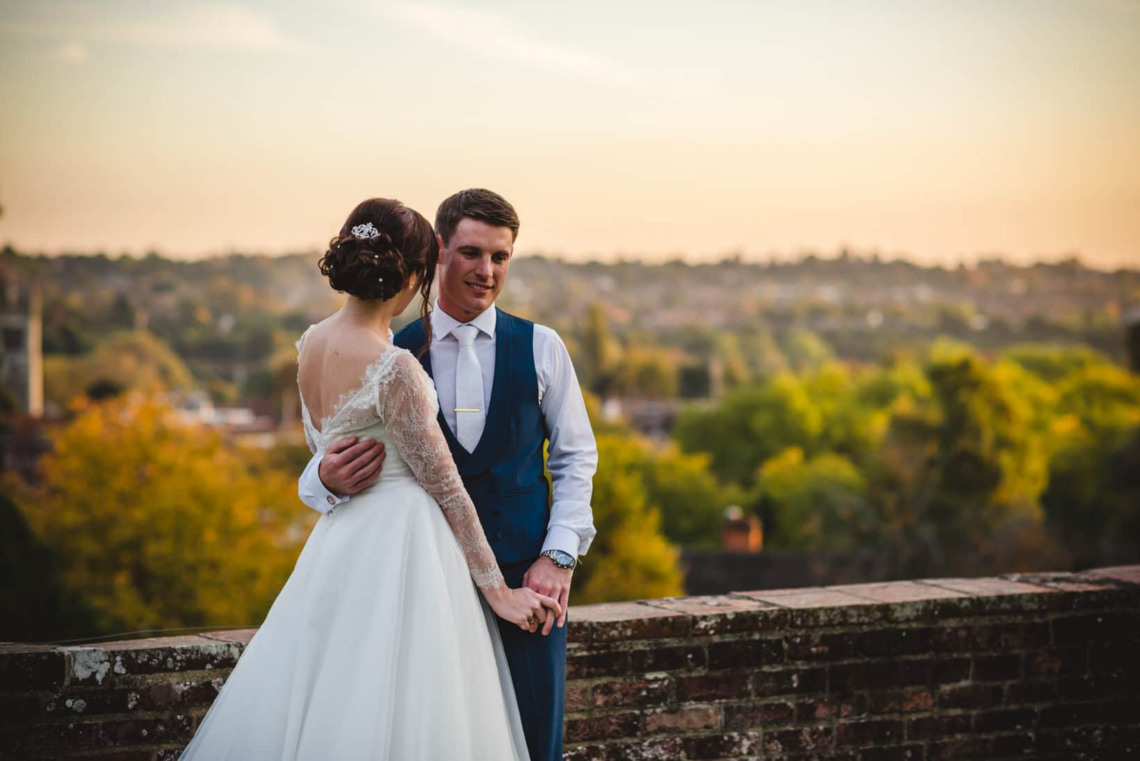 Surrey Wedding Photography Farnham Castle Nichola Johnny 55 of