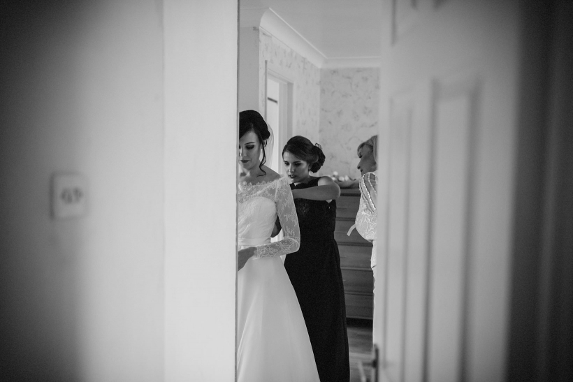 Surrey Wedding Photography Farnham Castle Nichola Johnny 7 of
