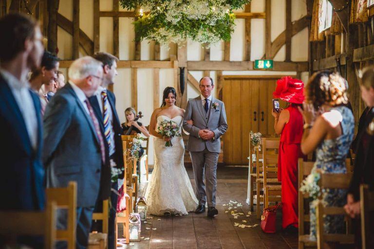 Gemma Emma Gate Street Barn Surrey Wedding Photography