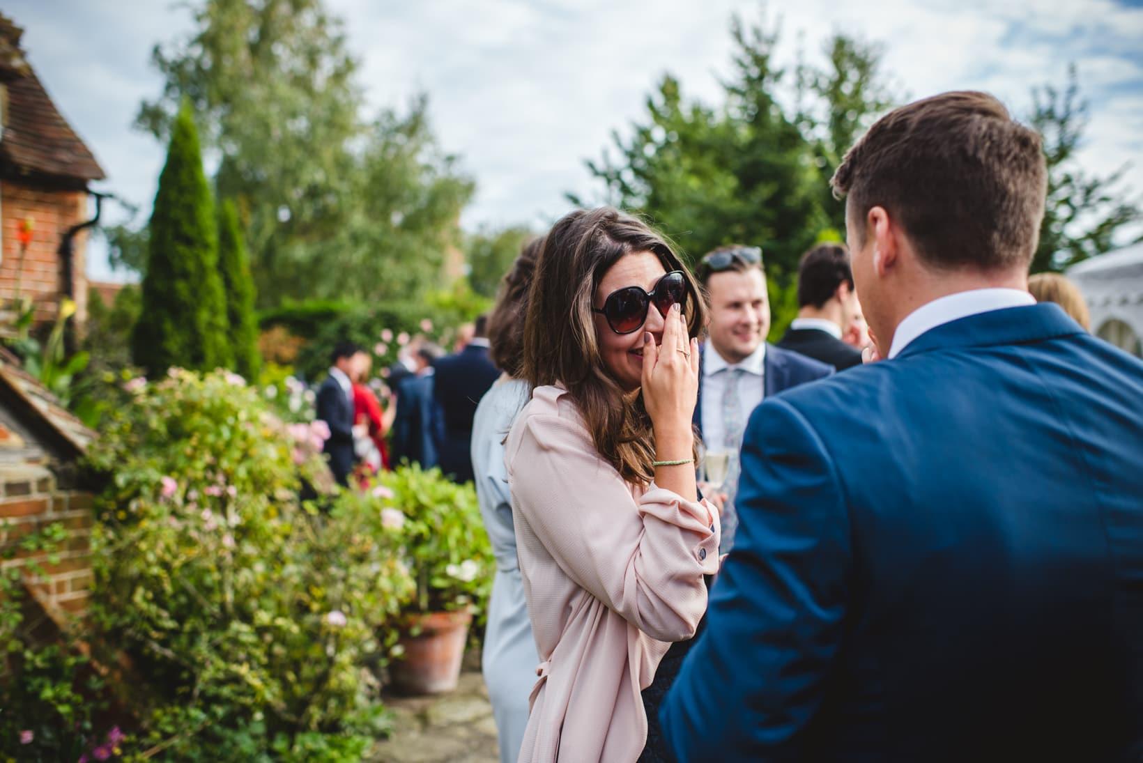 Lucy Simon Surrey Garden Marquee wedding Sophie Duckworth Photography