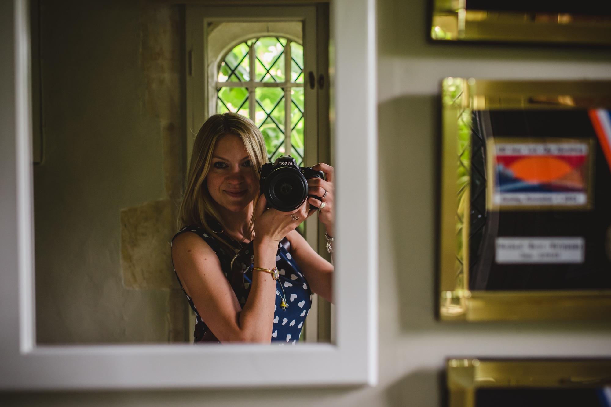 Loseley Park selfie