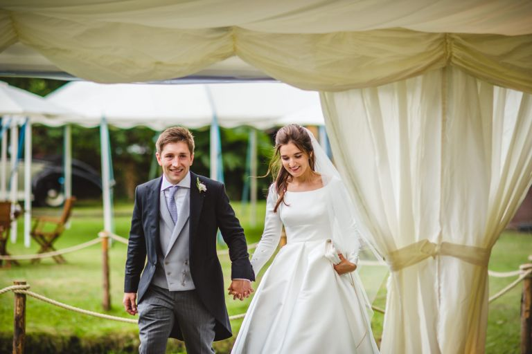 Kate Tom Chilworth Garden Wedding Sophie Duckworth Photography