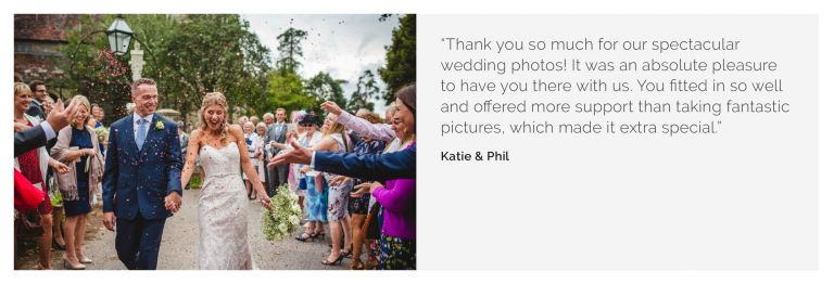 Hants wedding photography Katie Phil