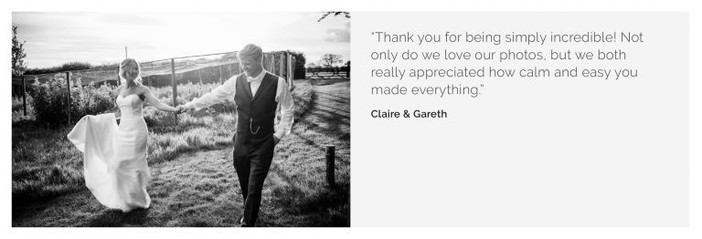 Sussex wedding photography Claire Gareth